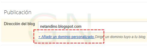 Blogspot con tu dominio