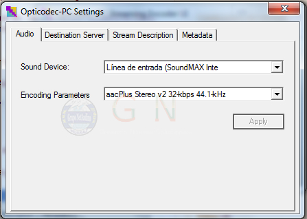 Manual de Streaming con Orban