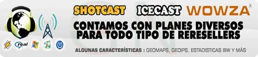 Radio Streaming Shoutcast Icecast Wowza